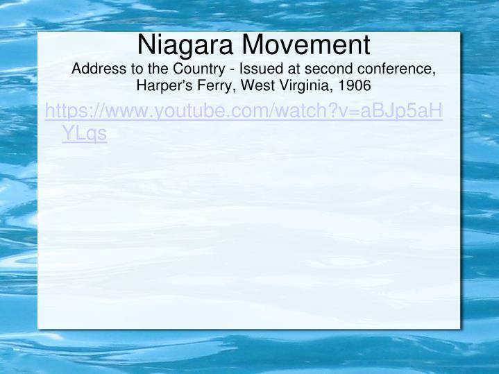 Niagara Movement