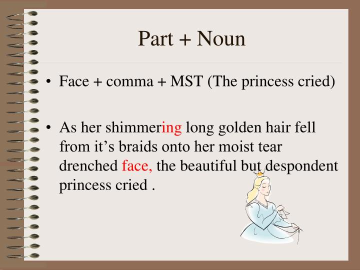 Part + Noun