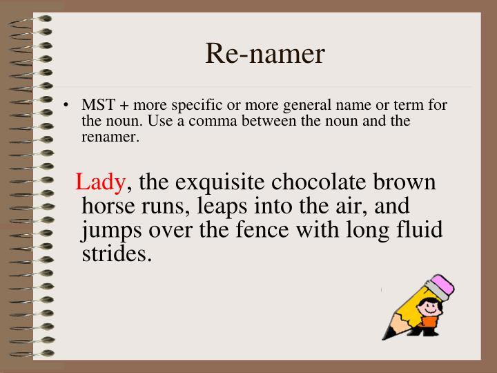 Re-namer