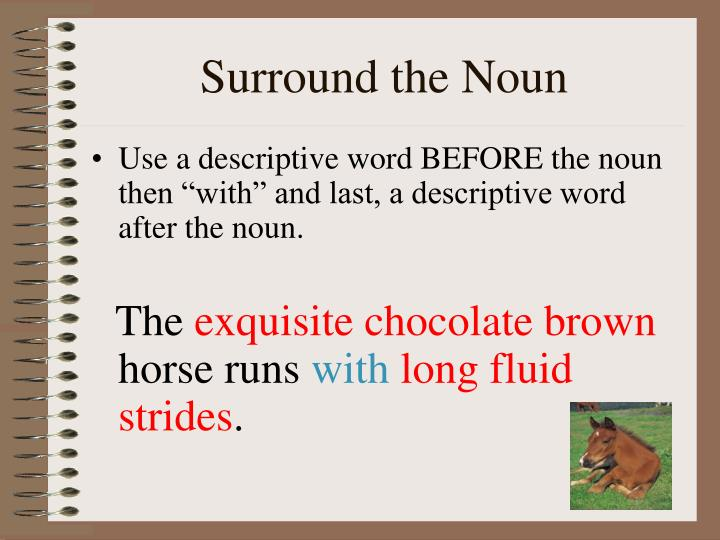 Surround the Noun