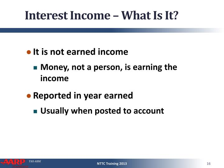 Interest Income – What Is It?