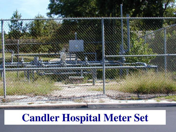 Candler Hospital Meter Set