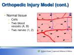 orthopedic injury model cont1