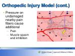 orthopedic injury model cont14