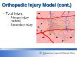orthopedic injury model cont15