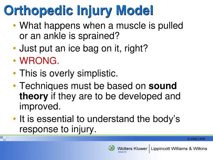 Orthopedic Injury Model