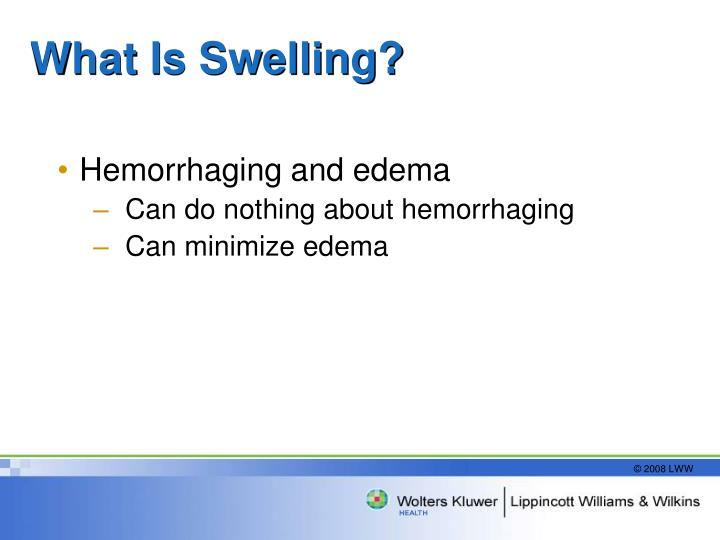 What Is Swelling?