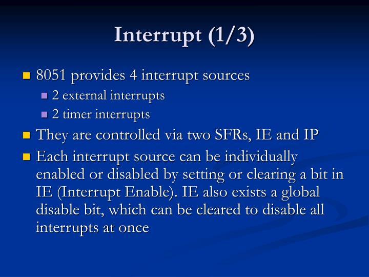 Interrupt (1/3)