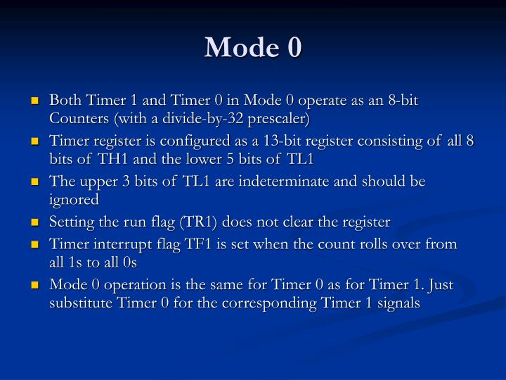 Mode 0
