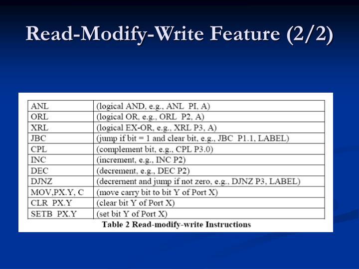 Read-Modify-Write Feature (2/2)