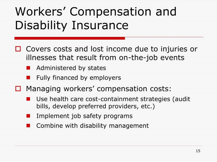 Workers' Compensation and