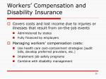 workers compensation and disability insurance