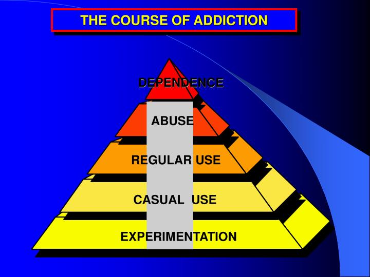 THE COURSE OF ADDICTION