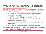 why is active learning important