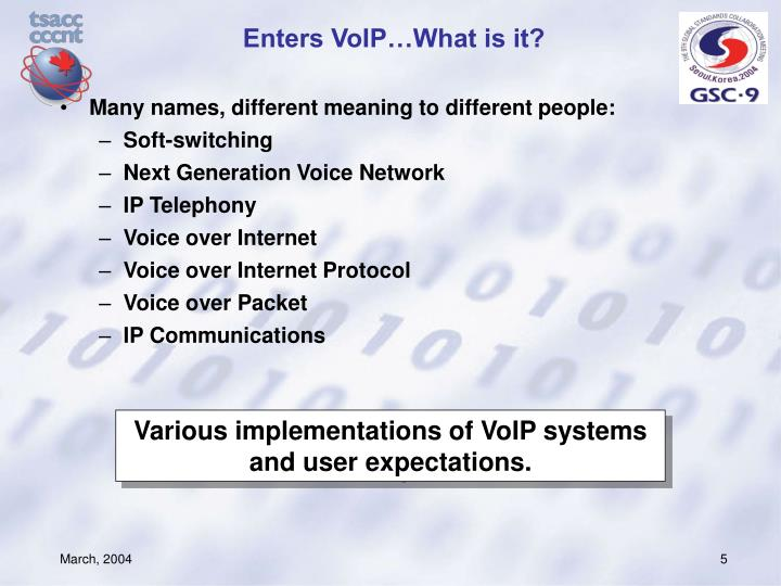 Enters VoIP…What is it?