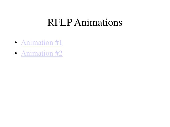 RFLP Animations