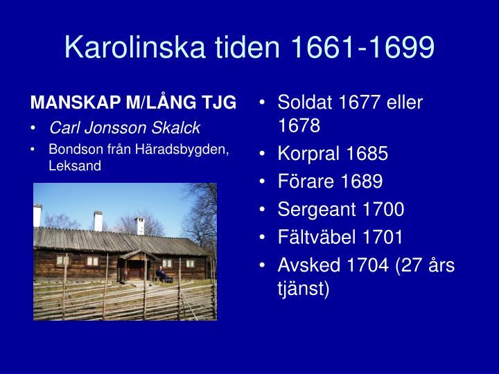 MANSKAP M/LÅNG TJG