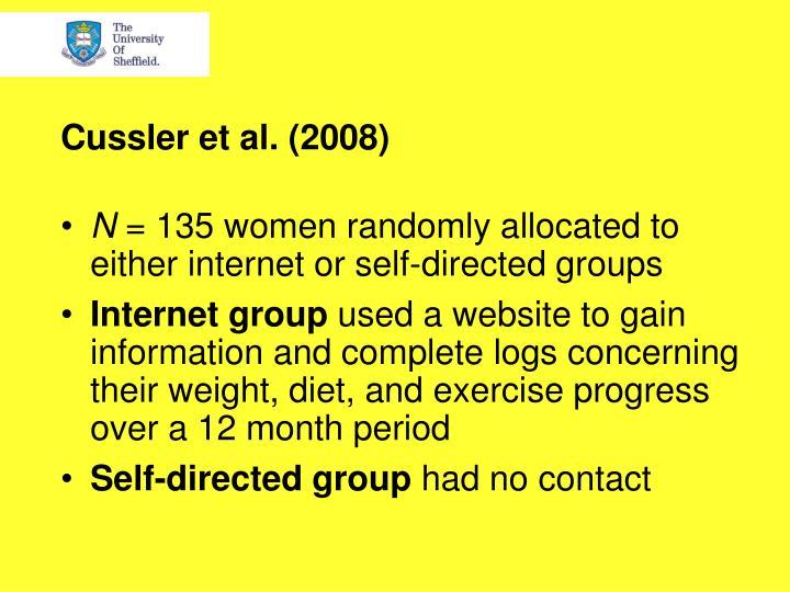 Cussler et al. (2008)