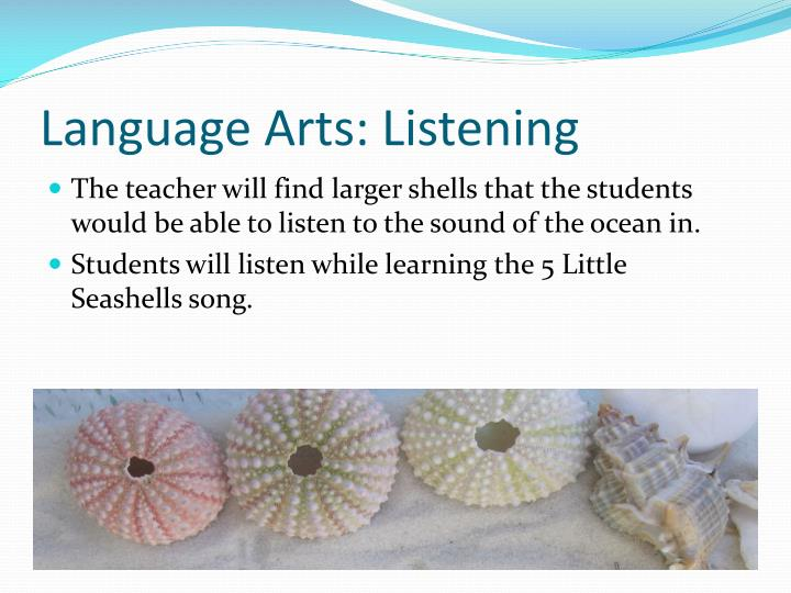 Language Arts: Listening