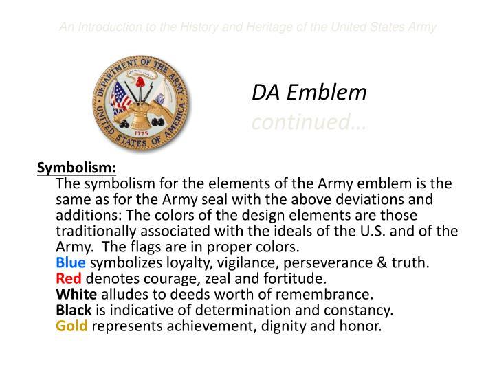 DA Emblem