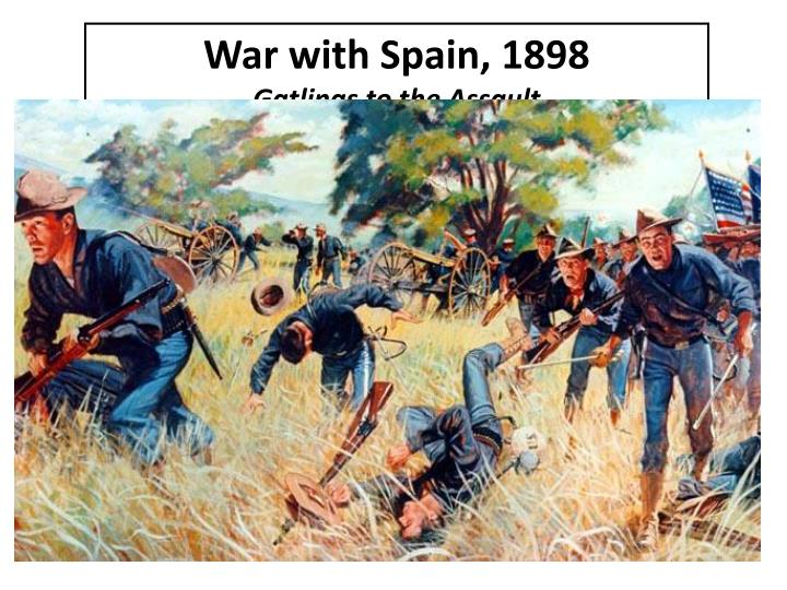 War with Spain, 1898