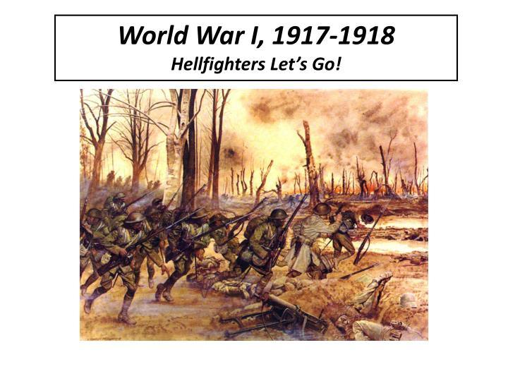 World War I, 1917-1918