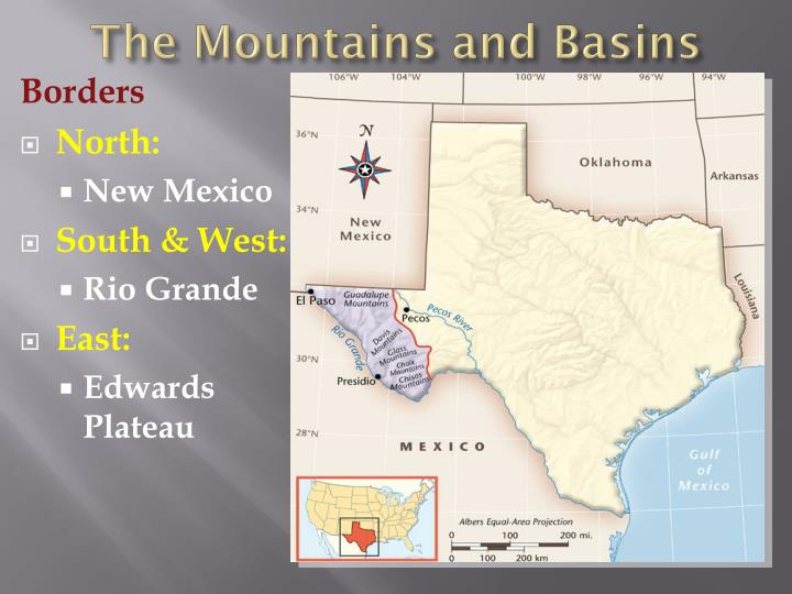 The Mountains and Basins