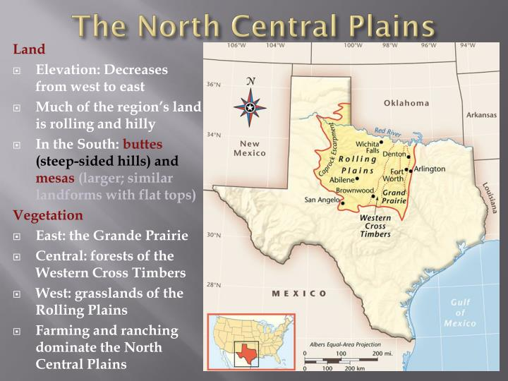 The North Central Plains