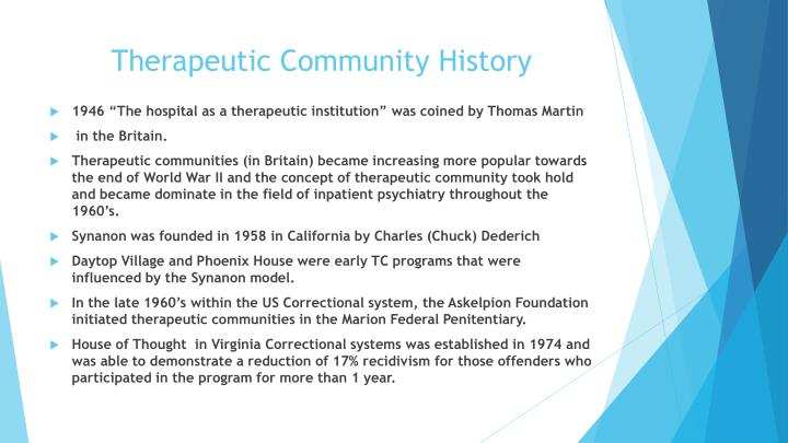 Therapeutic Community History