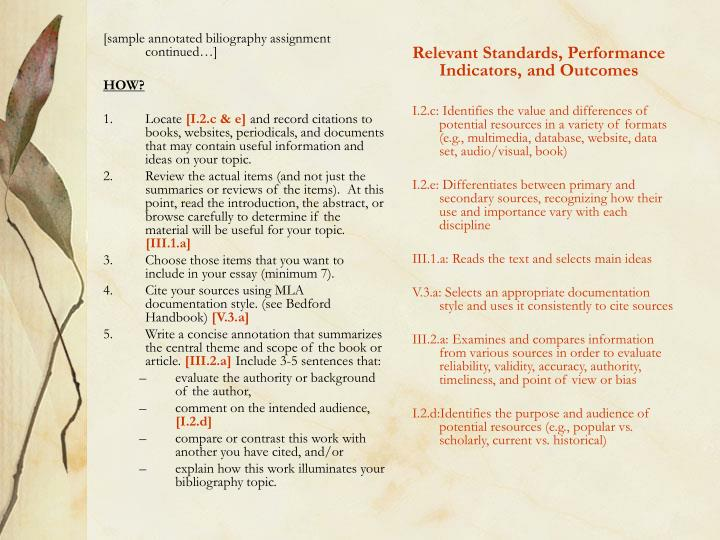 [sample annotated biliography assignment continued…]