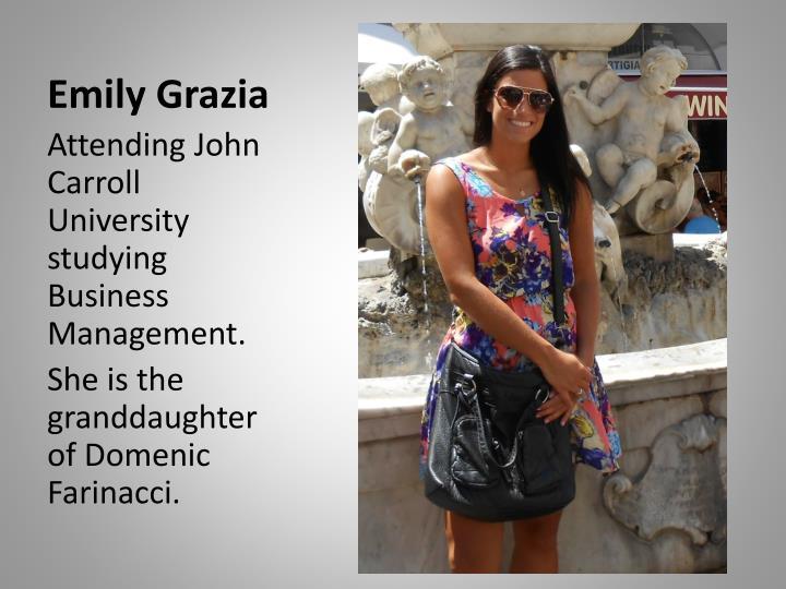 Emily Grazia