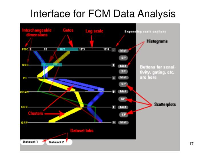 Interface for FCM Data Analysis