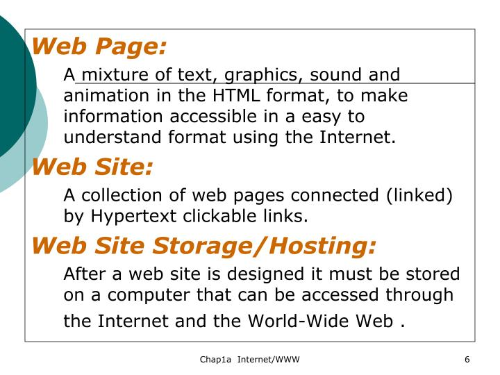 Web Page: