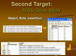 second target owl gres abox4