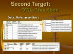 second target owl gres abox5