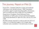 the journey report on pilot 3