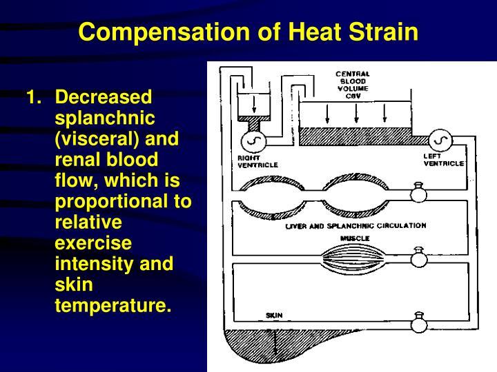Compensation of Heat Strain
