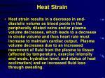 heat strain