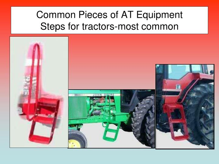 Common Pieces of AT Equipment