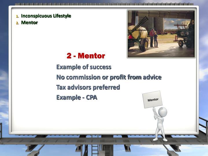 2 - Mentor
