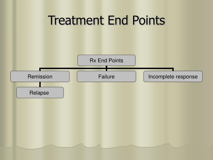 Treatment End Points