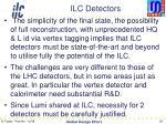 ilc detectors