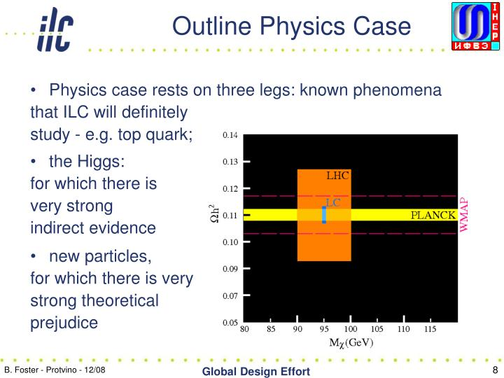 Outline Physics Case