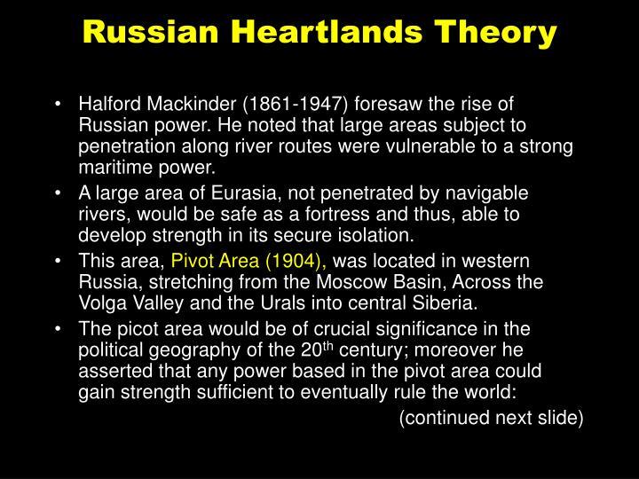 Russian Heartlands Theory