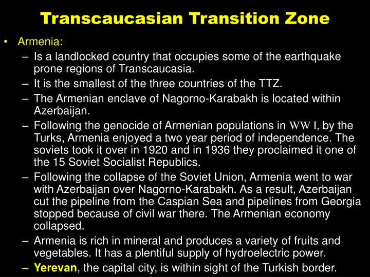 Transcaucasian Transition Zone