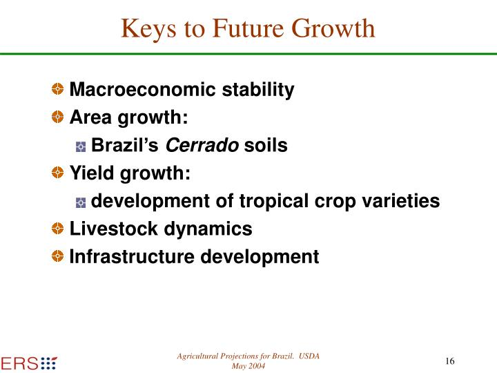 Keys to Future Growth