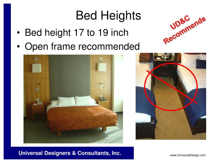 Bed Heights