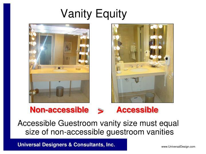 Vanity Equity