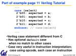 part of example page 11 verilog tutorial