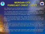 morgan city forecast crest 9 5 ft